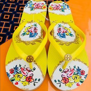 NWT Tory Burch Thin Flip Flop Thong Flat Sandals